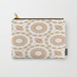 Citrine Mandala Tile Carry-All Pouch