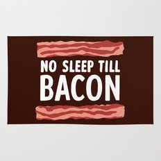 No Sleep Till Bacon Rug