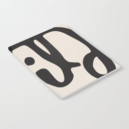 wild abstract Notebook
