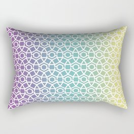 Gravity Tesselation Rectangular Pillow