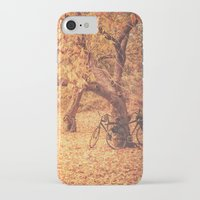 new york city iPhone & iPod Cases featuring Autumn - New York City by Vivienne Gucwa