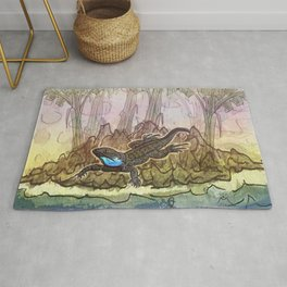 Lizard Island / Blue Beard Rug