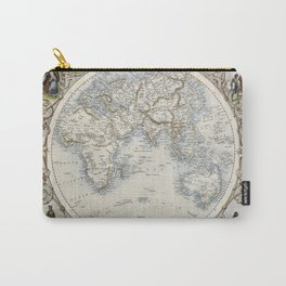 Eastern Hemisphere of the World 1851 Carry-All Pouch