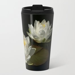 Water Lilys Travel Mug