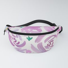 6  |  190412 Flower Abstract Watercolour Painting Fanny Pack