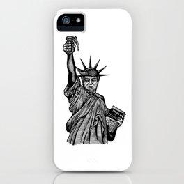 Statue of Suppression iPhone Case