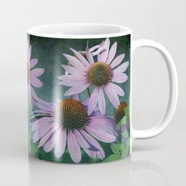 Beautiful summer with pink Echinacea / Daisy flowers Coffee Mug