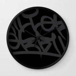 Tag Wall Clock