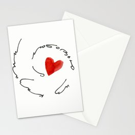 love from kazan Stationery Cards