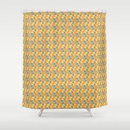 Retro Swirls Shower Curtain