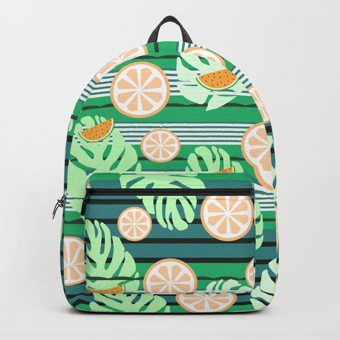 Watermelons underwater Backpack