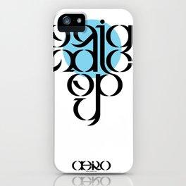 Original Copy iPhone Case