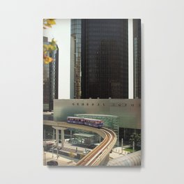GM Detroit Metal Print