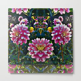 Flower friends Metal Print