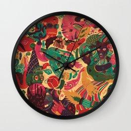 Sense Improvisation Wall Clock