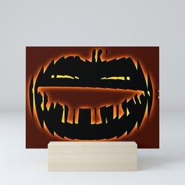 Haunted Pumpkin Mini Art Print