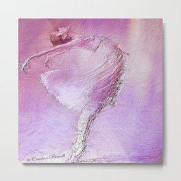 Nina Ballerina Metal Print