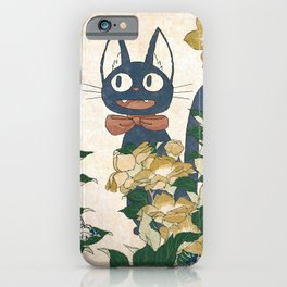 Jiji from Kiki's delivery service vintage japanese mashup iPhone Case