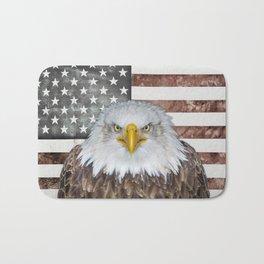 American Bald Eagle Patriot Bath Mat