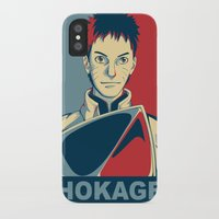 naruto iPhone & iPod Cases featuring Naruto - Hokage by KingSora