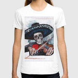 El Mariachi - Dia De Los Muertos T-shirt