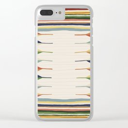 Persian style 2 Clear iPhone Case