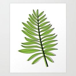botanical 002 Art Print