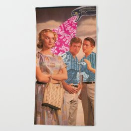Teen Thoughts Beach Towel