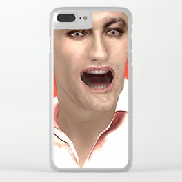 SquaRed: Hell Year Clear iPhone Case