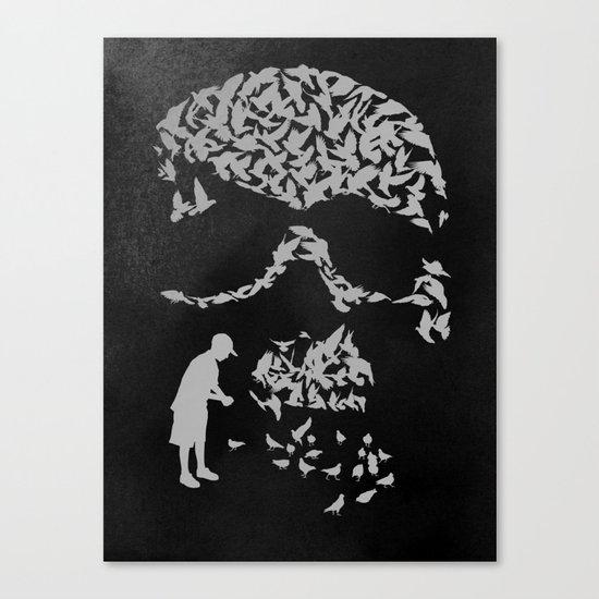 Pigeonholed Canvas Print
