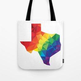 Geometric Pride Texas Tote Bag