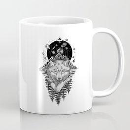 Space Wolf Coffee Mug