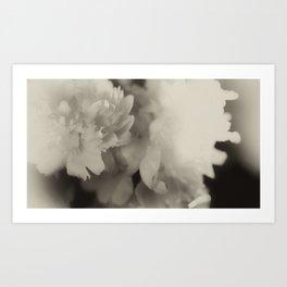 floating in monotones Art Print