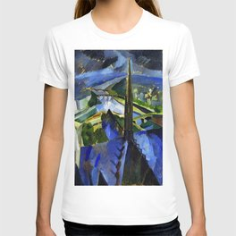 "Robert Delaunay ""The Spire of Notre Dame""(1909-1910) T-shirt"
