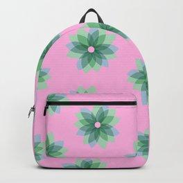 Geo Spring Flowers 03 Backpack