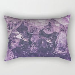 Amethyst Gem Dreams Rectangular Pillow