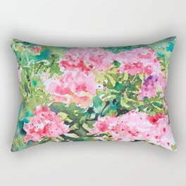 Pink Azalea Rectangular Pillow