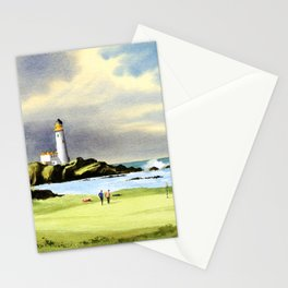 Turnberry Golf Course Scotland 10th Green Stationery Cards