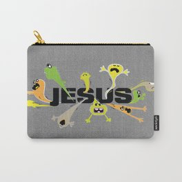 Scary Jesus Carry-All Pouch