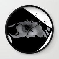 nerd Wall Clocks featuring Nerd by igcarr