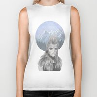 the mountains are calling Biker Tanks featuring The mountains are calling... by lenita pepa