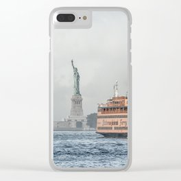 Ferry & Liberty Clear iPhone Case