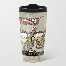Protest Monkeys Metal Travel Mug