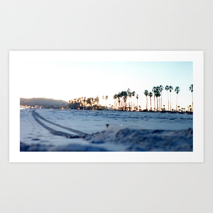 Beach Trail Art Print