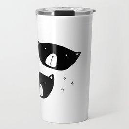 Black Bears Travel Mug