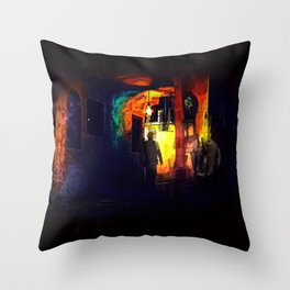 Ill-Fated Entry Throw Pillow
