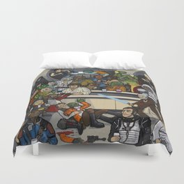 The Mos Eisley Cantina Duvet Cover