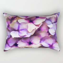 Impressions Of A Hydrangea Rectangular Pillow