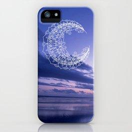 Bohemian Moon iPhone Case