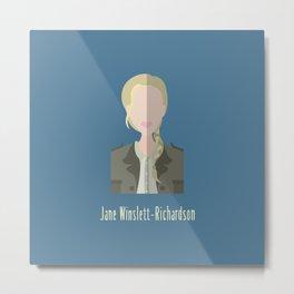 Jane Winslett-Richardson Metal Print